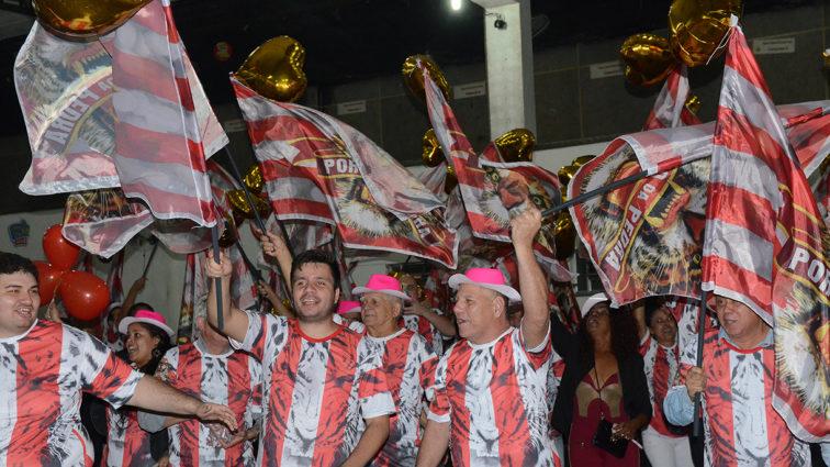 Cinco sambas continuam na disputa do Porto da Pedra