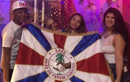 Curicica tem novo casal de mestre-sala e porta-bandeira