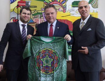 Mocidade obtém apoio importante em Brasília e convida 1o ministro da Índia para desfile