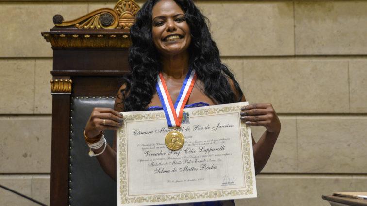 Selminha e Laíla são homenageados na Câmara dos Vereadores do Rio